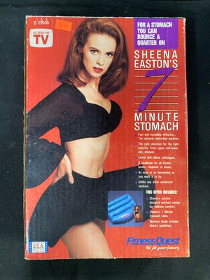 Seven minute stomach ab workout video and accessory for Sale in Santa Maria, CA