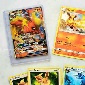 Rare Holo GX EX Pokemon Cards - including Flareon GX for Sale in Germantown, MD