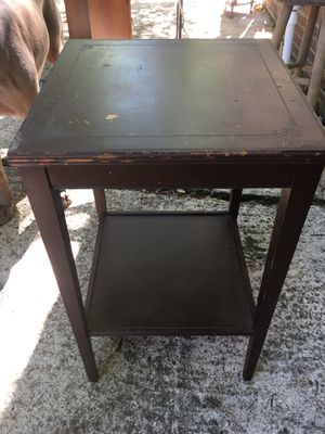 Small table with shelf for Sale in Cary, NC