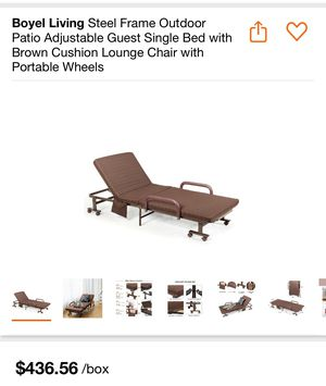 New !!!!! Patio single bed lounge chair for Sale in Rancho Cucamonga, CA
