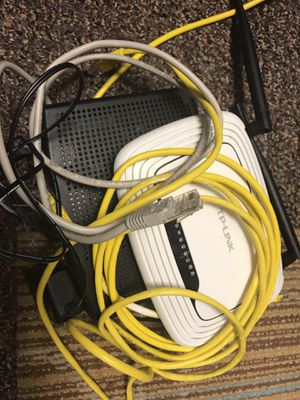 TP Link Router & Arris Modem for Sale in Wakefield, MA