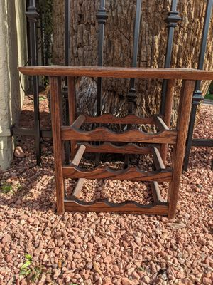 Wooden Wine Rack for Sale in Phoenix, AZ