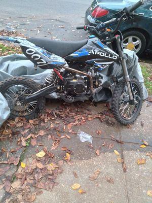 125 apollo dirt bike for Sale in Washington, DC