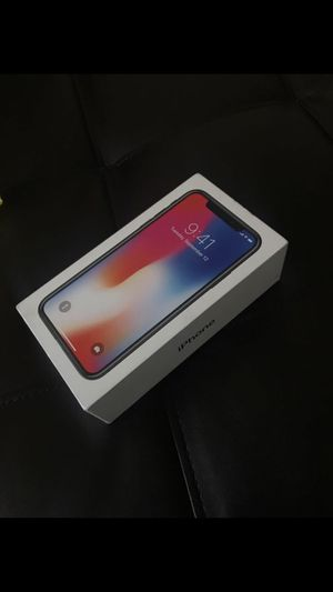 Brand new iPhone X need gone ASAP only asking for 500 64G for Sale in Adelphi, MD
