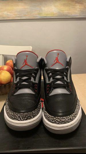 Jordan Black cement 3 for Sale in Burbank, CA