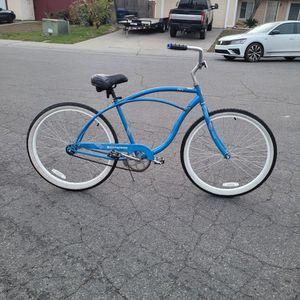 "SCHWINN Cruiser Bike. 26 tires. 18"" Single-speed w/ coaster brake. Everything works. for Sale in Sacramento, CA"