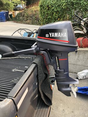 Yamaha 8hp short shaft 2 strokes for Sale in Tukwila, WA