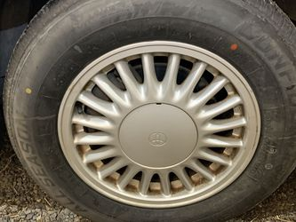 New Tires 215/65r15 on Aristo wheels 5x114.3 for Sale in Ellensburg,  WA