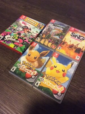 Nintendo Switch games! for Sale in Puyallup, WA