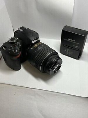 Nikon D3200 camera with 18-55mm Kit Lens - used for Sale in The Bronx, NY