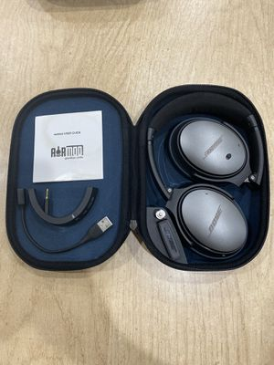 $300 Bose QC25 with AirMod Bluetooth accessory for Sale in Fair Lawn, NJ