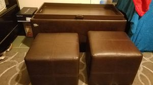 KIDS- OTTOMAN LARGE SPACE FOR TOYS OR CLOTHES etc for Sale in Anaheim, CA