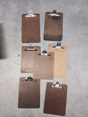 Clip boards 7 for Sale in Salt Lake City, UT
