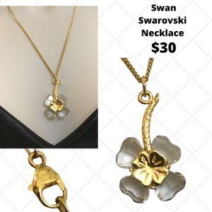 Swan Swarovski necklace for Sale in Chesapeake, VA