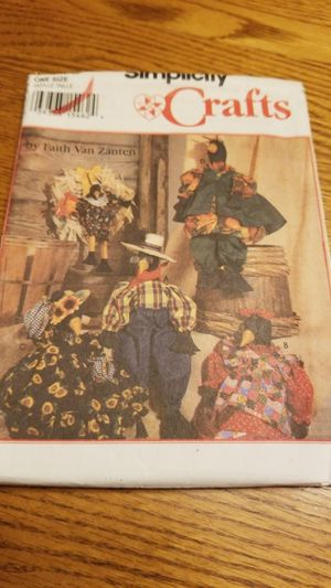 SIMPLICITY CRAFT PATTERN 9010/Country Crows for Sale in Menifee, CA