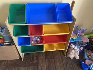Toy bin organizer for Sale in Placentia, CA