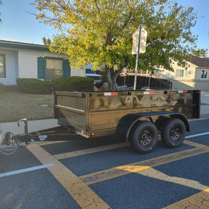 Custom 8x10x2 dump trailer for Sale in San Diego, CA