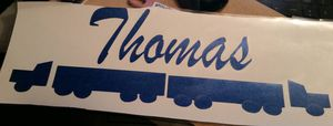 18 wheeler decal for Sale in Florence, MS