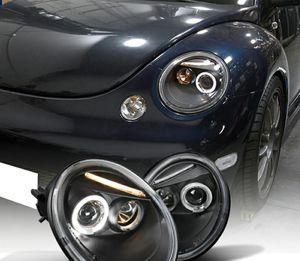 Volkswagen Beetle 1998-2005 Halo Projector Headlights for Sale in Phillips Ranch, CA