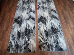 Chevron Grey Cream Rugs for Sale in San Diego, CA