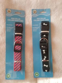 GREENBRIER KENNEL CLUB DOG COLLARS for MEDIUM SIZE DOGS. for Sale in South Jordan,  UT