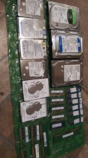 Computer hardware Hd,ram for Sale in Bastrop, TX