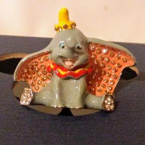 Disney Parks Arribas Swarovski® Crystal DUMBO Jeweled Mini Figurine for Sale in Brooklyn, NY