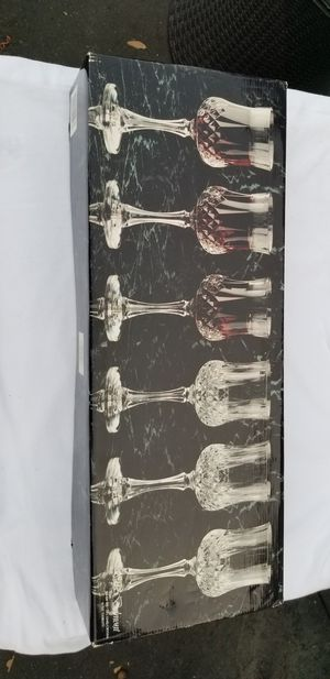 Toscany collection Set Of Six Crystal glass for Sale in Vista, CA