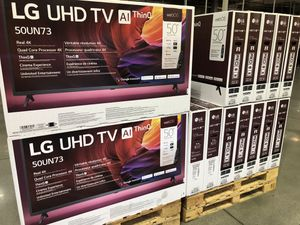 LG 50 inch 4K TV party with Warranty for Sale in Los Angeles, CA