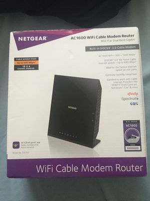 Net gear WiFi Cable Modem Router for Sale in North Las Vegas, NV