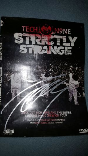 Autographed Tech N9ne DVD Cover (Strange Music) for Sale in Mesa, AZ