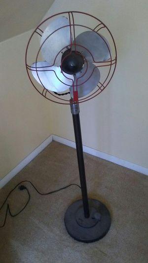 Antique pedestal floor fan for Sale in Newportville, PA