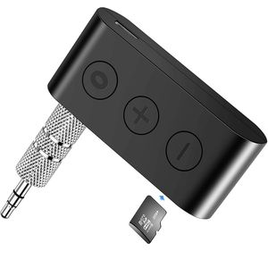Mellion Bluetooth Receiver/Car Kit with TF Card, Portable Wireless Audio Adapter 3.5mm Aux Stereo Output Bluetooth 5.0, A2DP, Built-in Microphone for Sale in Santa Ana, CA