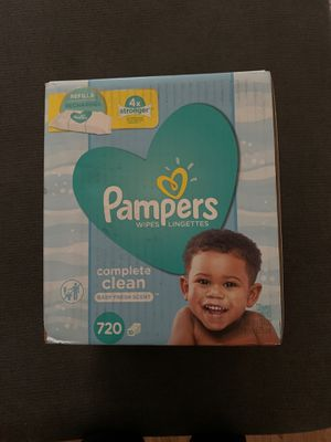 Pampers & Huggies wipes for Sale in Mount Vernon, WA