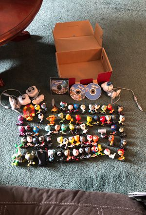 Mattel Radica UB Funkeys Lot of 64 Figures 3 Ports CDs Some Ultra Rare Like New for Sale for sale  Frederick, MD