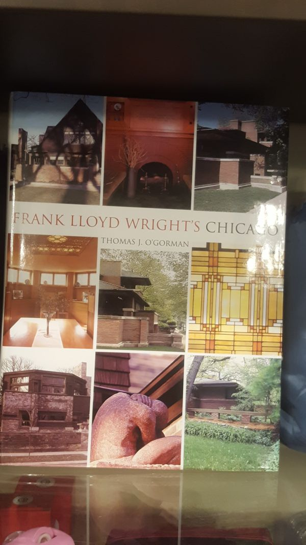 New books of Frank Lloyd Wright's Chicago hardcover