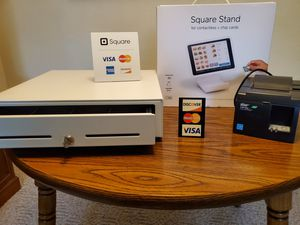 Square stand, cash drawer and receipt printer. Does not include the iPad for Sale in Colorado Springs, CO