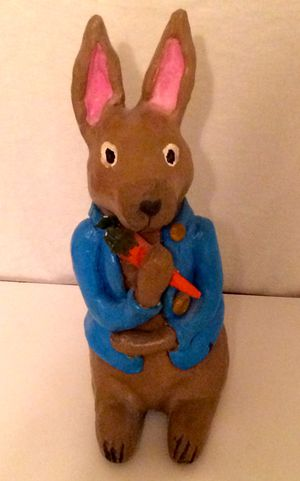 Peter Cottontail Sculpture - Original Artwork for Sale in Ithaca, NY