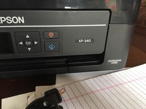 Epson printer with ink for Sale in Frederick, MD