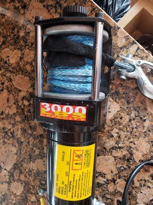Winch 3000 lb. 12 v for Sale in Miami, FL