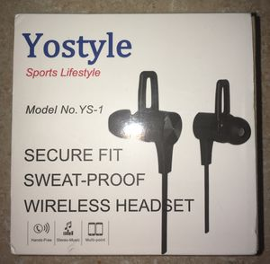 New Wireless Headphones,Magnetic Earbuds Bluetooth Earphones Noise Canceling Sport Earphones for Sale in Spring, TX