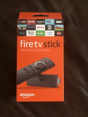 Amazon Fire TV Stick with Alexa Voice Remote for Sale in Scottsdale, AZ