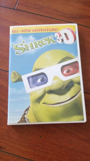 Shrek 3D DVD short for Sale in Lawndale, CA