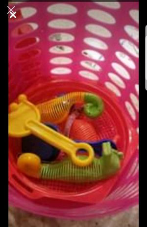 Kids beach basket and beach toys for Sale in Plant City, FL