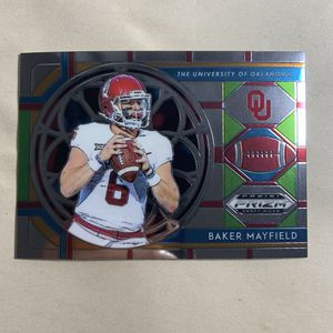 2019 panini prizm DP stained glass insert baker mayfield pack fresh for Sale in La Mesa, CA