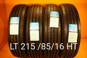 4 New tires LT 215/85/16 HT llantas nuevas for Sale in Chula Vista, CA