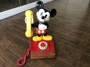 Mickey Mouse Rotary Phone for Sale in Los Angeles, CA
