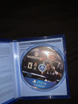 Madden 18 PS4 for Sale in Perris, CA