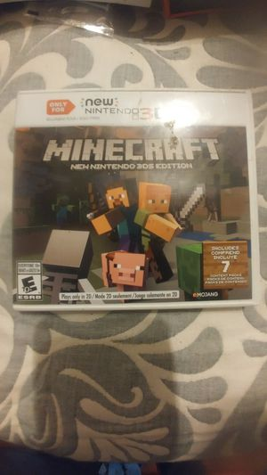 Nintendo 3DS Minecraft for Sale in Columbus, OH