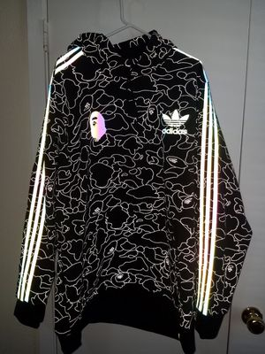 Adidas x Bape Tech Hoodie for Sale in Richardson, TX